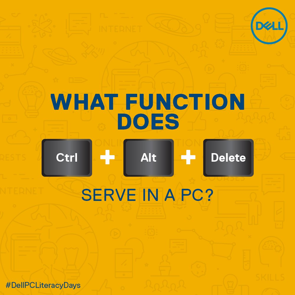(1/5) Know a PC and its functions really well? Answer all the question and stand a change to win big! #DellPCLiteracyDays #DellIndia #ContestAlert