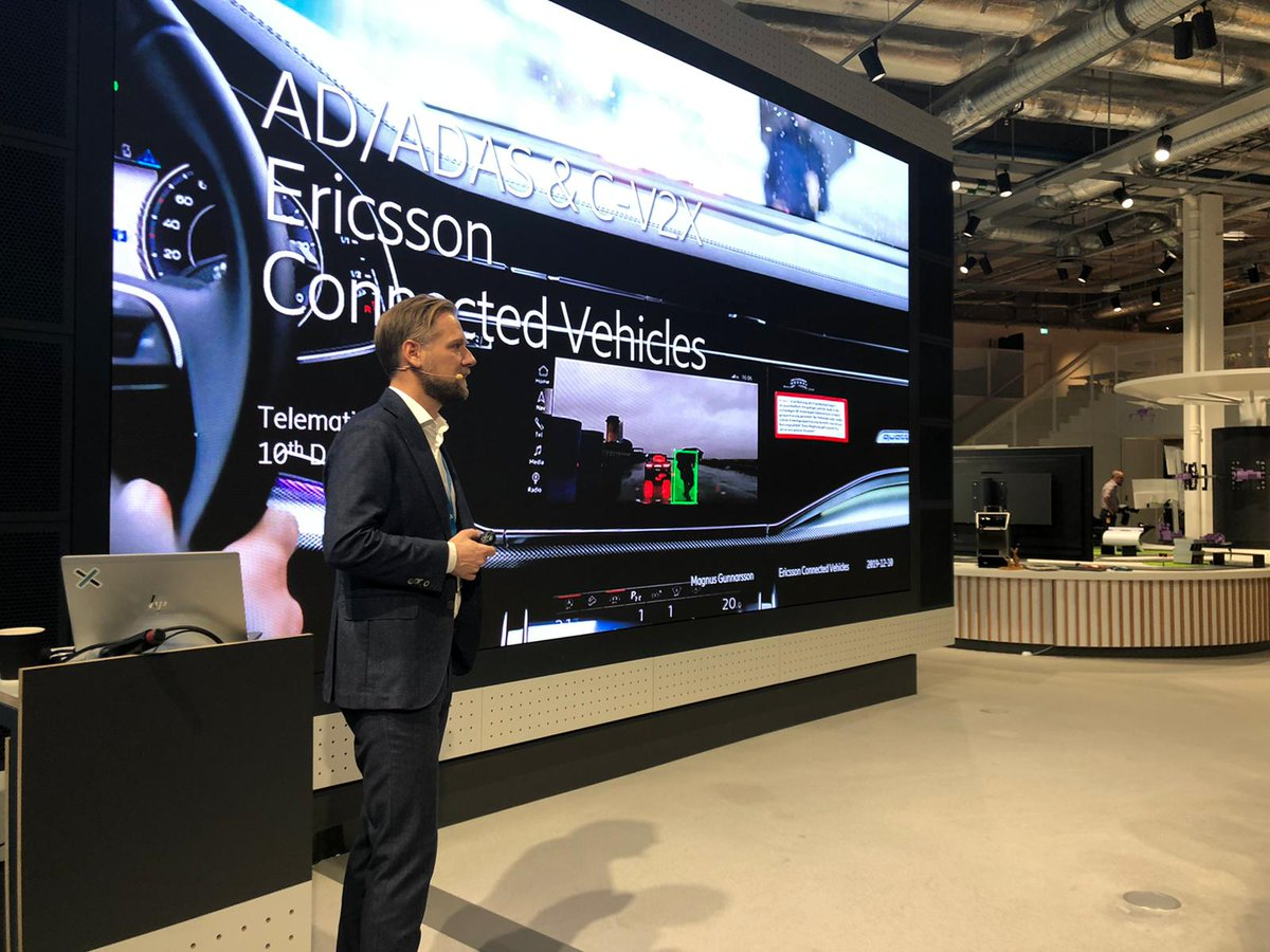 Today, we hosted a lunch seminar for the #TelematicsValley network in Stockholm with focus on how the #automotive ecosystem can cooperate to unleash new business potential, as well as sharing experience in #CV2X and #ADAS. http://m.eric.sn/U4co50xw9F8pic.twitter.com/vDFkawvLq7