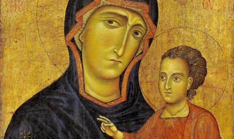 La Madonna dell'Odigitria di Monreale, simbolo della presenza bizantina in Sicilia - https://t.co/punKVqqhxq #blogsicilianotizie
