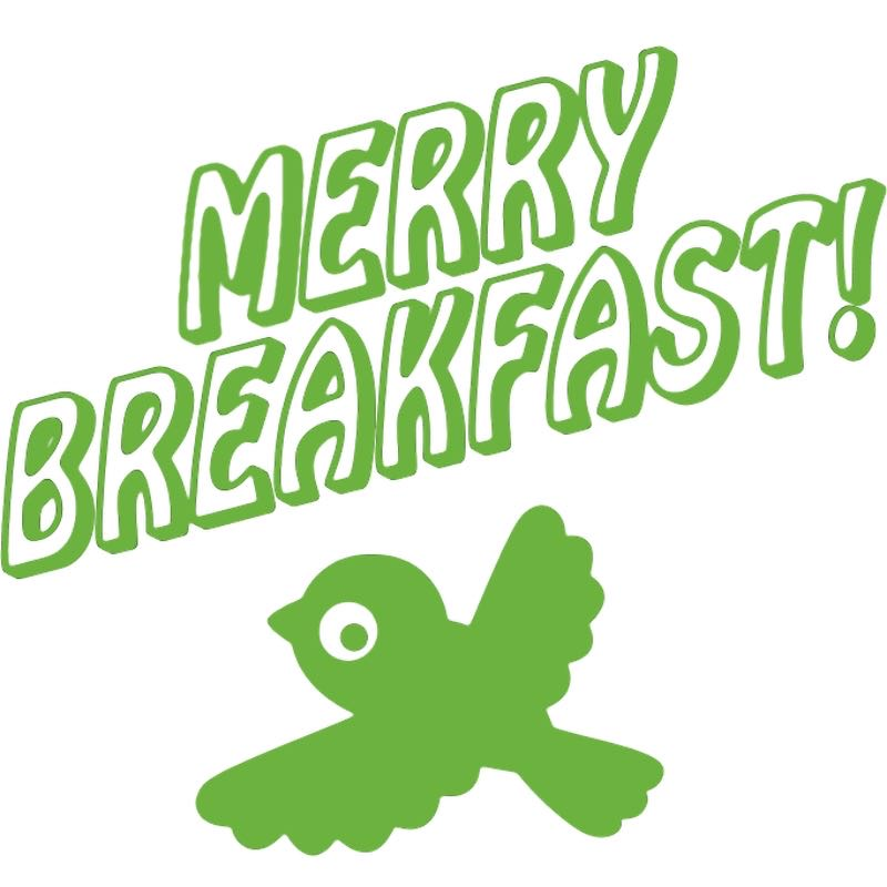 .@BraulioAmado  designed Merry Breakfast tshirts- to accompany my annual xmas playlist- which are available now :)…