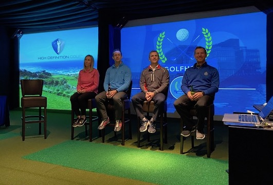 The @BRSGolf by @golfnow team celebrated a wonderful 2019 at the new, state of the art Performance Academy at Holywood Golf Club. Later this year, our #GOLFPASS team members will return with a man who knows his way around @Holywoodgc1904, @McIlroyRory!