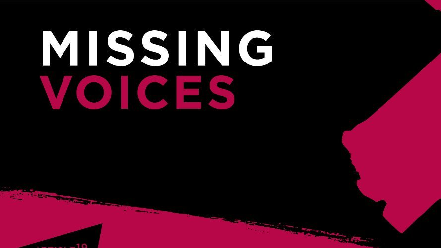 Social Media Platforms are censoring content and silencing peoples voices. What are you missing? Find out more and join our campaign: article19.org/campaigns/miss… #MissingVoices #HumanRightsDay