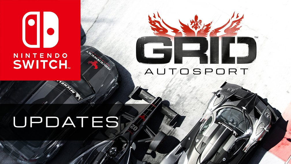 Two free multiplayer updates are coming to GRID Autosport for Nintendo Switch! 2-player split-screen and 8-player local multiplayer will land on Monday 16 December. Online multiplayer will arrive in 2020. Buy GRID Autosport on the Nintendo eShop now: nintendo.co.uk/Games/Nintendo…