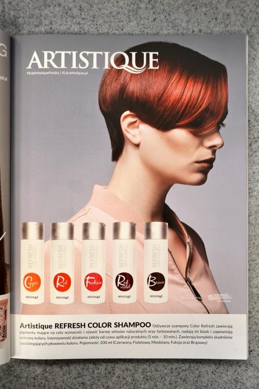 Szampony i farby do włosów Artistique Polska w najnowszym wydaniu magazynu Kurier Fryzjerski  Zachęcamy do lektury! #artistique #polska #artistiquepolska #artistiquenederlands #refresh #shampoo #szampon #hair #włosy #farba #dyehair #hairdresser #fryzjer #hairstylistpic.twitter.com/ueDUvVpeIl