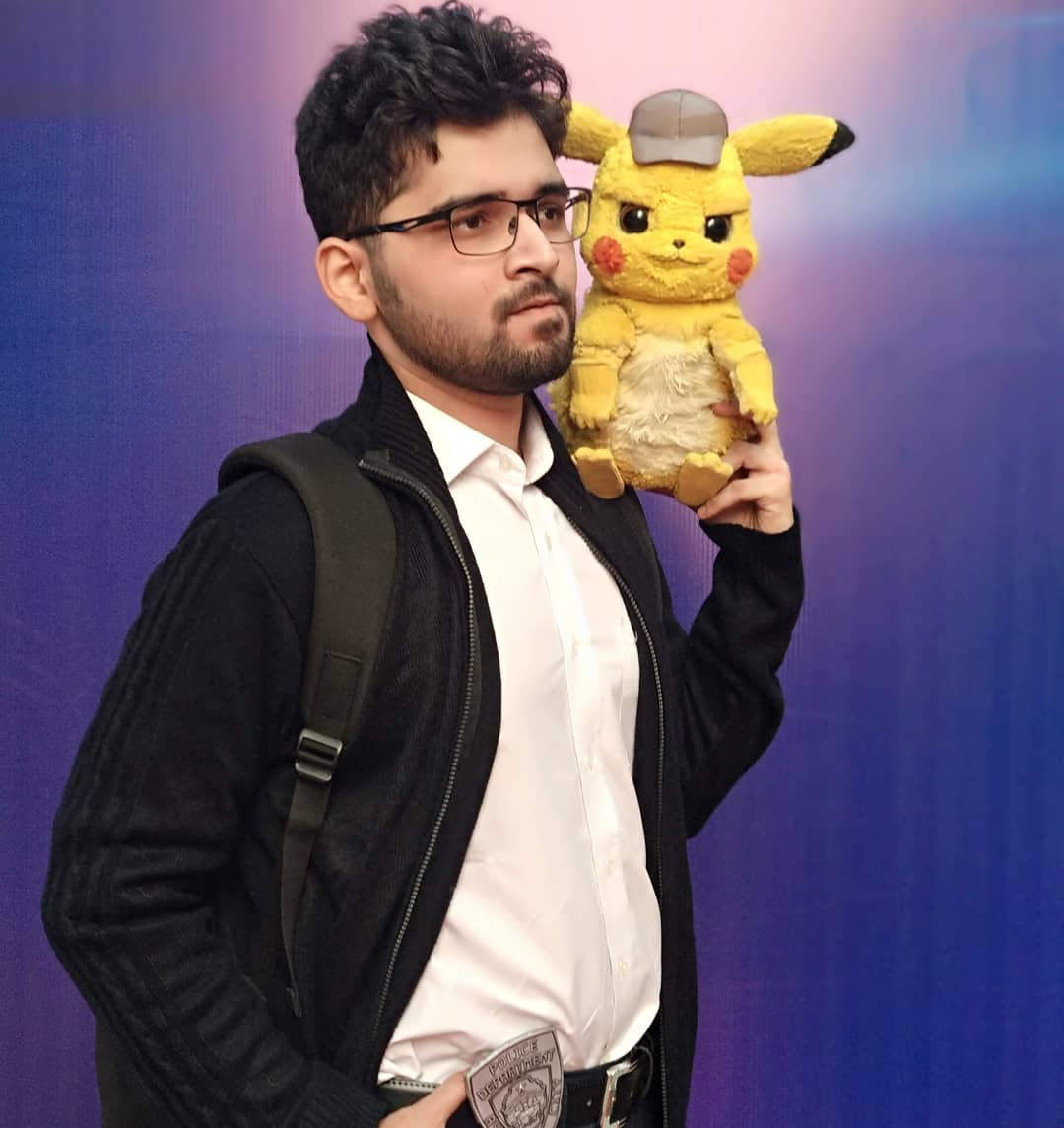 Shreyas M Creations On Twitter Detective Harry Goodman On Duty With Detective Pikachu Comiccon Comiccon2019 Comicconmumbai Detectivepikachu Smmcreations