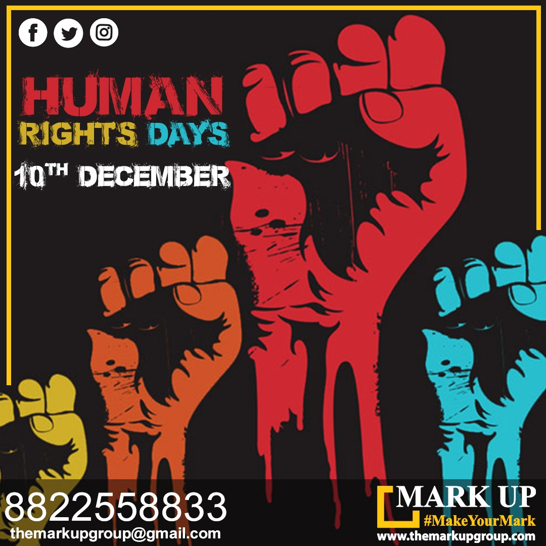 """""""Some values must be universal, like human rights and the equal worth of every human being."""" #humanrightsday #10december #branding #websolutions #digitalmarketing #website #socialmediamarketing  #marketingagencyahmedabad #print #markup #marketing #markupmarketing #ahmedabad"""