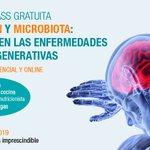 Image for the Tweet beginning: Masterclass Nutrición y Microbiota: Su
