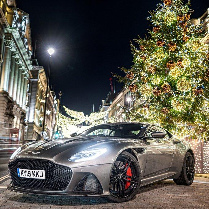 Getting into the festive spirit…
