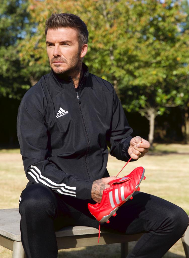 Classic combination. David Beckham and the iconic #Predator Mania, available now in limited quantities: a.did.as/60181TbqE