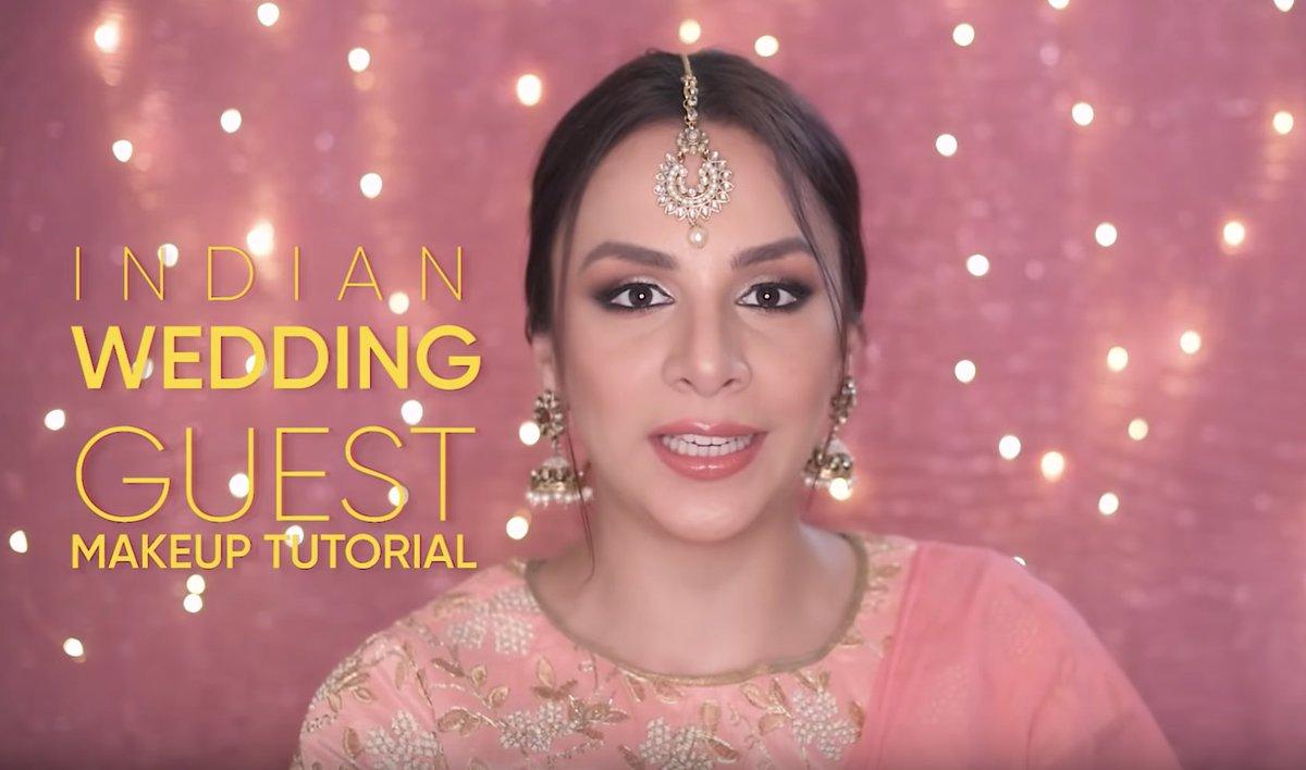 Attending an Indian wedding soon? @NitibhaKaul  has got all your make-up dilemmas covered →  https://youtu.be/HERX4CZPWz0
