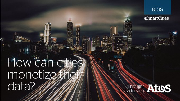 Data is considered the new oil. But for #SmartCities, data is the rocket fuel...