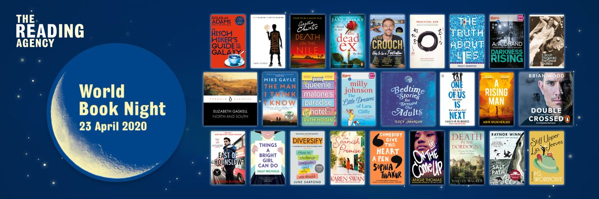 We are so excited to reveal the #WorldBookNight 2020 booklist, featuring the 26 titles that we believe will encourage everyone to read their way to a better life ow.ly/dWeX50xw4QC