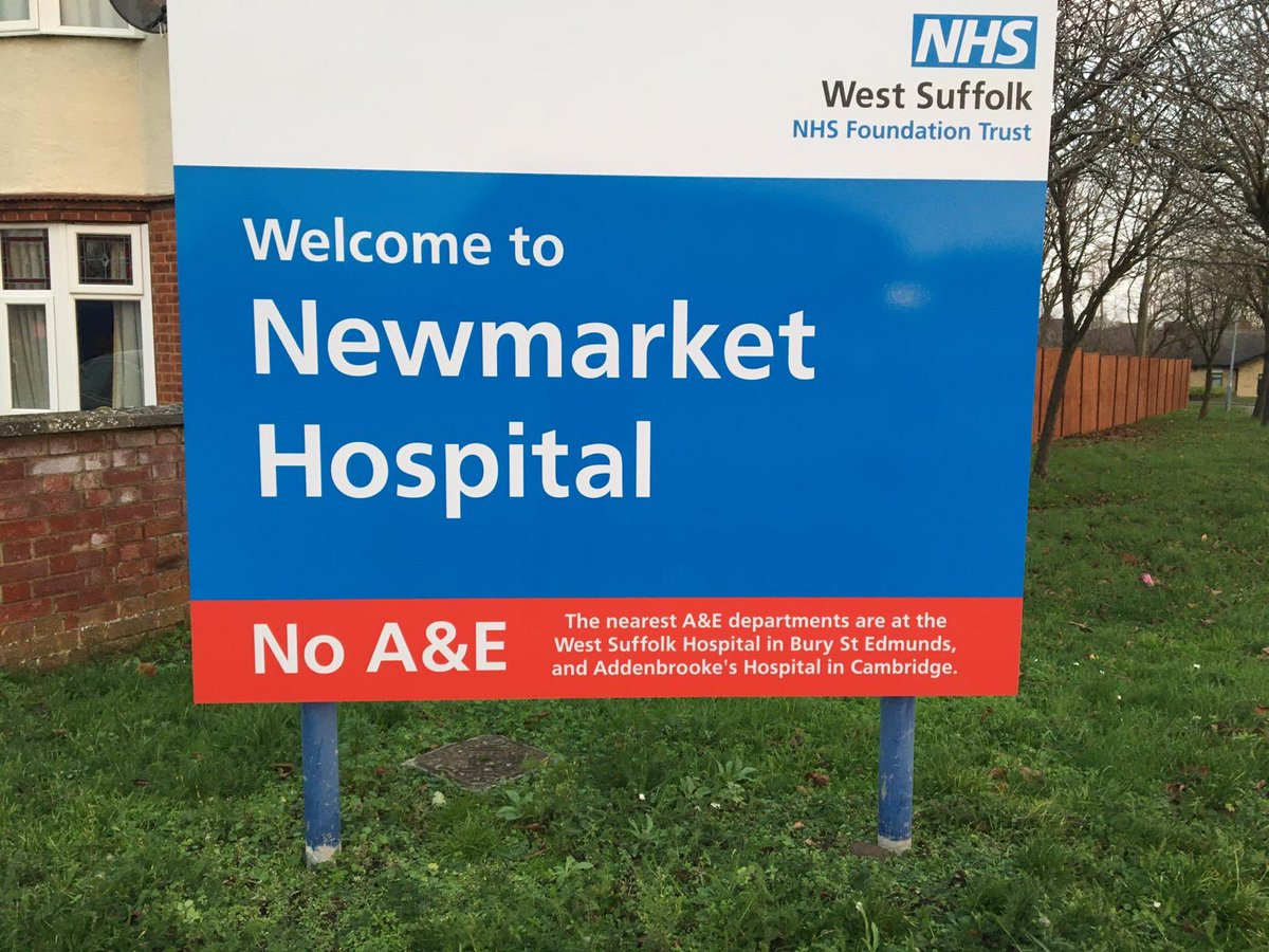 Official statement from Hancock's tories in the local press states that he has announced improvements to A&E at NEWMARKET hospital.  They don't have an A&E!  This is the Secretary of State for Health.  If so out of touch here, what hope is there for everywhere else?  #GE2019  #NHS <br>http://pic.twitter.com/yLKl6WpkQF