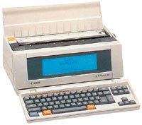 @hattiehattie @DavidNWriter In 1992 I became the proud owner of a Canon Starwriter. A moment of solidarity listening to this podcast. Oh the thrill of editing on that tinsy-tiny screen! Loved this candid account of your writing journey. Thank you! #amwriting