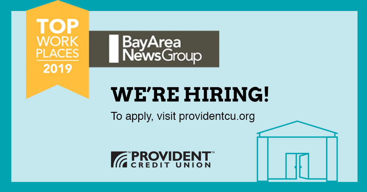 Get excited about going to work again. Check out our available #career opportunities.https://providentcu.org/index.asp?i=join-prov …#bayareajobs #newjob #topplacestowork #jobseeker #jobalert #creditunionjobs #jobsearch #jobopening