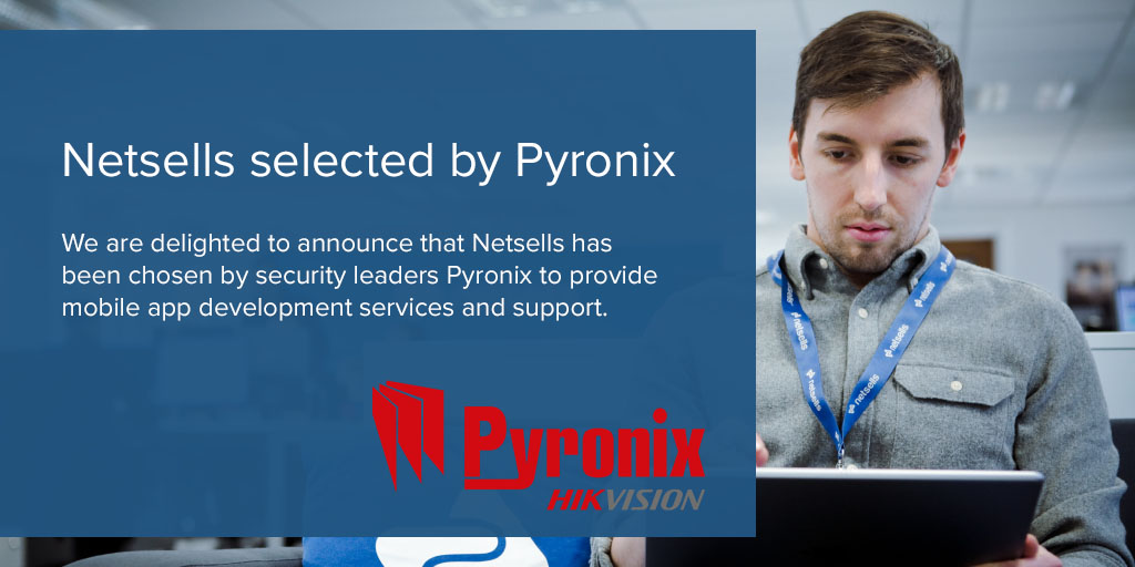 We are delighted to announce that we have been appointed by global security product and technology leaders @Pyronix to provide mobile application development services and support. pic.twitter.com/KpsZWLRAFD