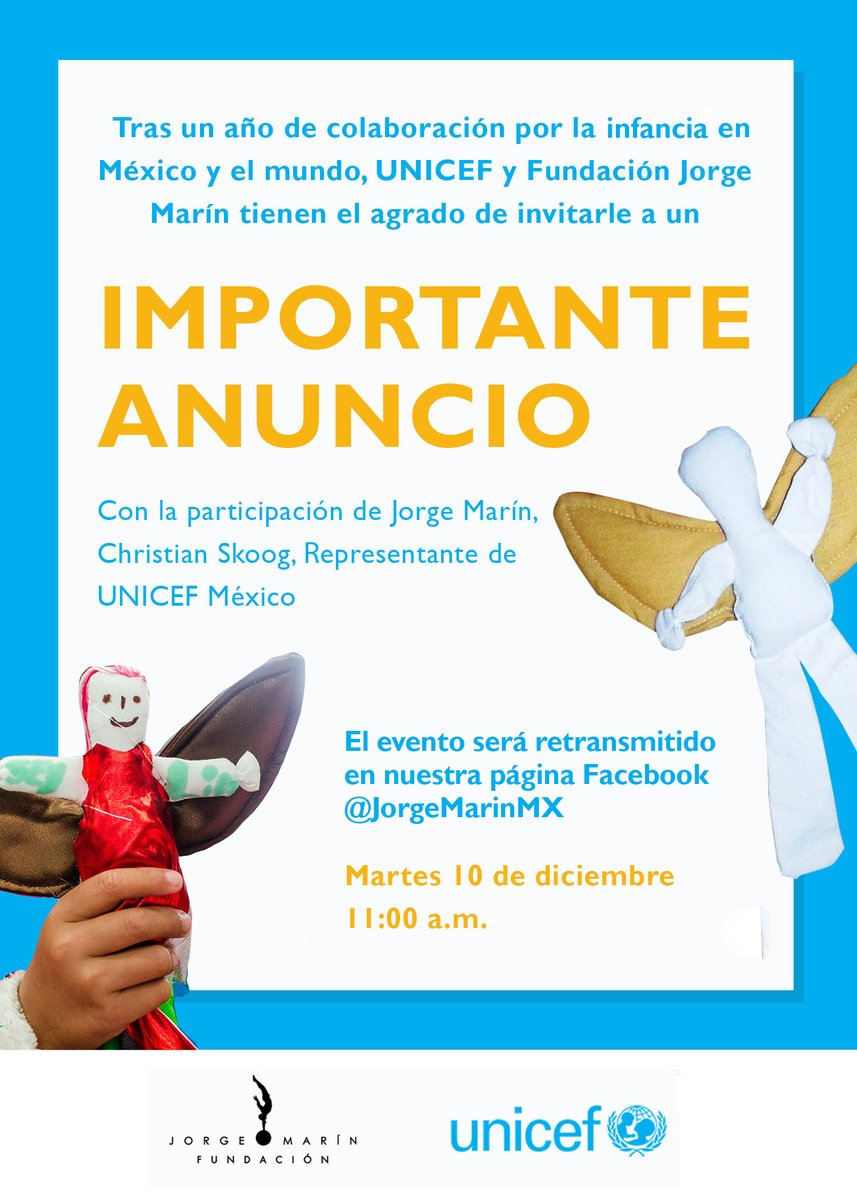 Stay tuned... @UNICEFMexico