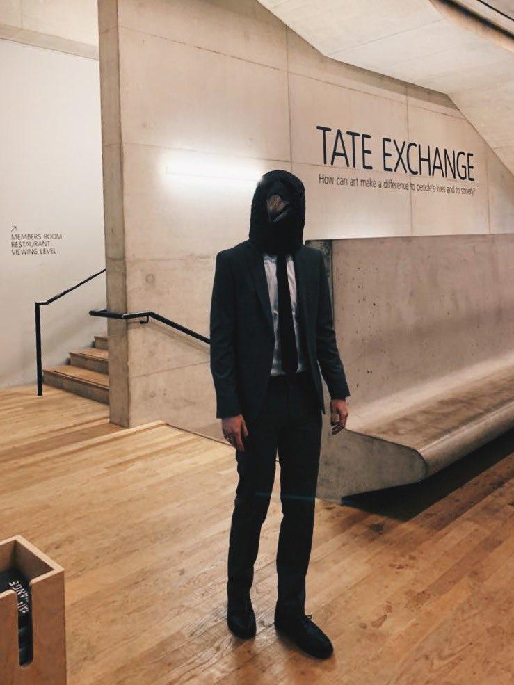 Meanwhile at #TateExchange... 👀