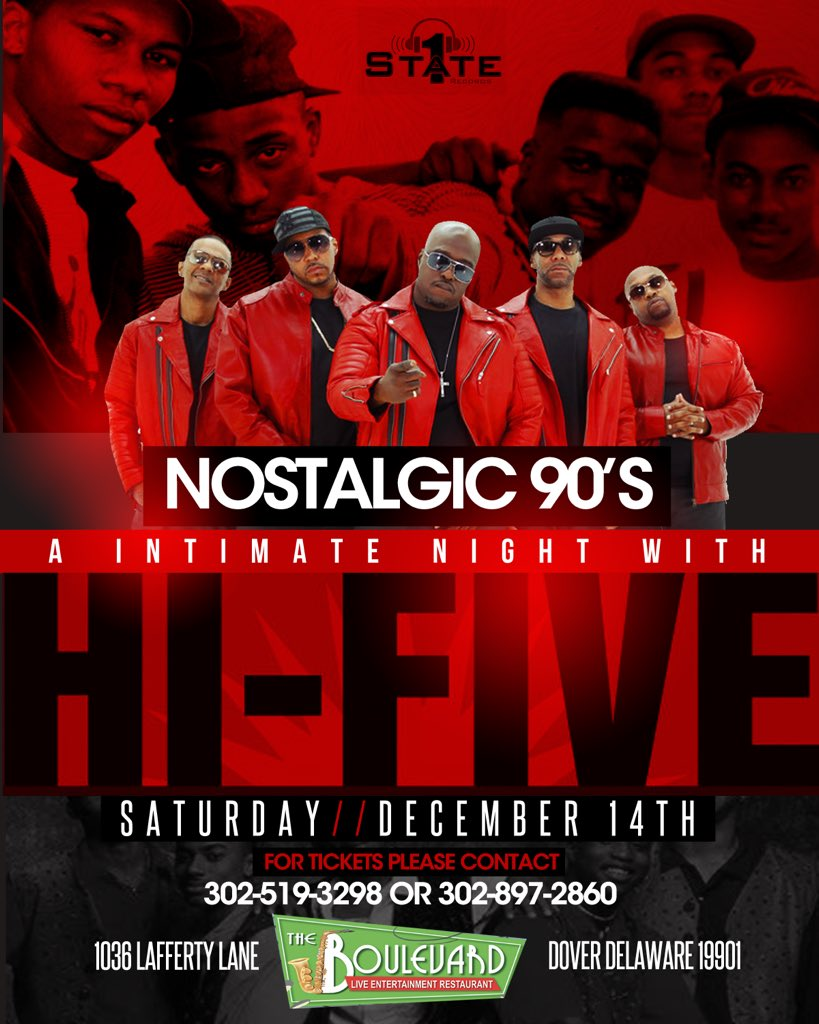 THIS SATURDAY @OfficialHiFive  90's party #kissingame #qualitytime #90's <br>http://pic.twitter.com/CKkBcEJbHE
