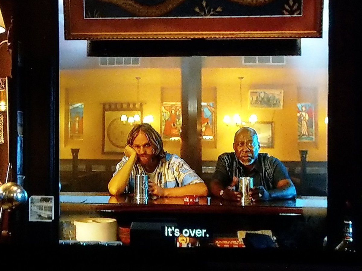 """You reach for the stars, and then you watch a dude get piked by a narwhal."" #blammo  #SaveLodge49 #lodge49forever #lodge49"