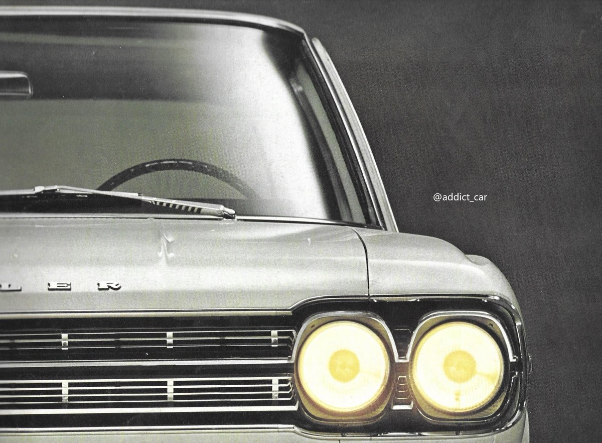 Assembled from CKD kits at Renault's Belgian factory, the curious Rambler-Renault filled the gap at the top of the French company's range in some European countries.  This brochure in German features the 1966 model with 6-cylinder, 3.2-litre engine. #carbrochure #Renault #AMC