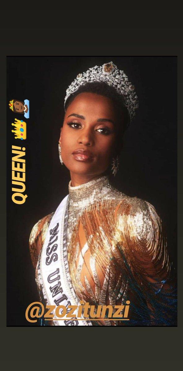 QUEEN!! 🙌🏽@zozitunzi 👑👸🏾...#missuniverse #southafrica #queen #dreambig #raisingdion #netflix  #jasiahyoungofficial  #dion #ZozibiniTunzi #pageant #younghollywood