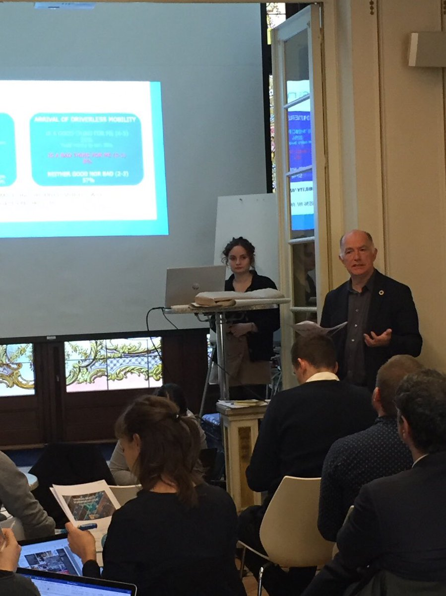 Sharing results from #driverlessmobility public forums in 24 cities organized by @CSPO_ASU @AustriaTech @involveUK @MPubliques and other colleagues to discuss policy integration opportunities with EU stakeholders at the House of Vienna in Brussels https://t.co/KBblRv3eOW