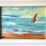 "Image for the Tweet beginning: SOLD... ""Ride the Wind"" #Thrilled #windsurfing 🌊🏄🏻‍♂️💫"