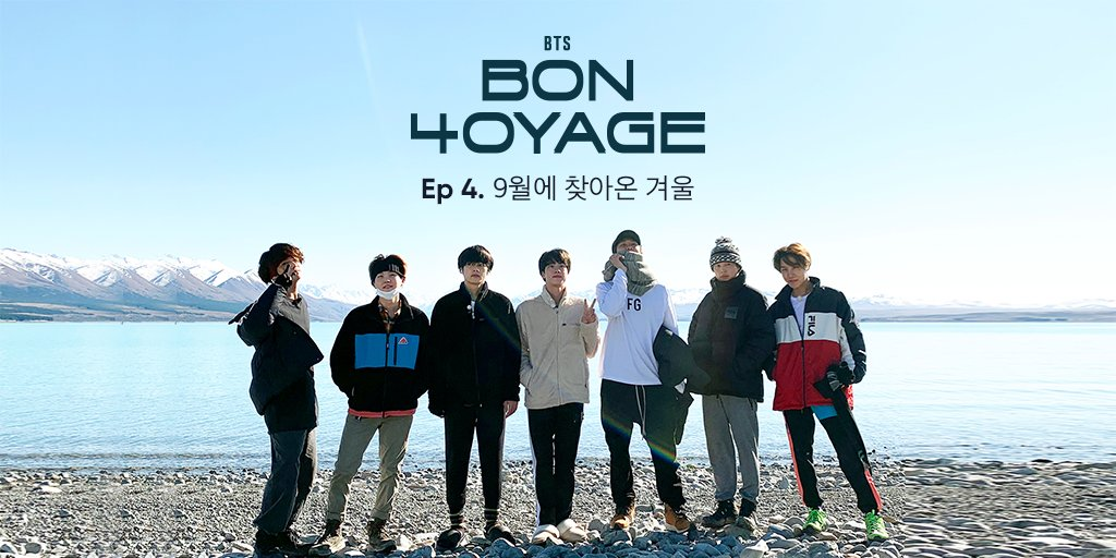 Ep.4 presents the members trying to get the best rooms to sleep in, cooking up supper, and getting ready for their first camping night in picturesque New Zealand🏔️! 😉 Watch now! 👉app.weverse.io/0moll6 #BTS #BonVoyage4 #Weverse