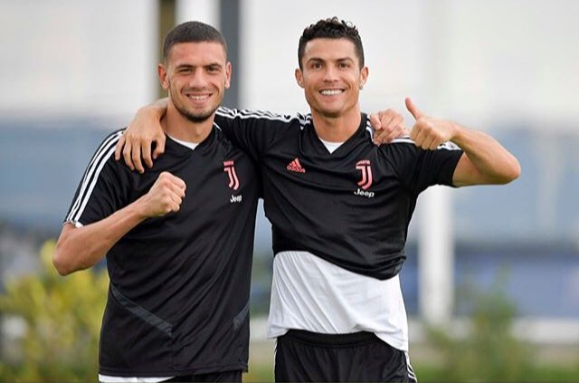 """Demiral: """"I was very pleased. When I first arrived, Emre Can helped me a lot to get to know the club. Mentally, Cristiano [Ronaldo] is always ready to help me."""