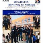 Image for the Tweet beginning: TONIGHT: The @MENofPGCPS hosts its