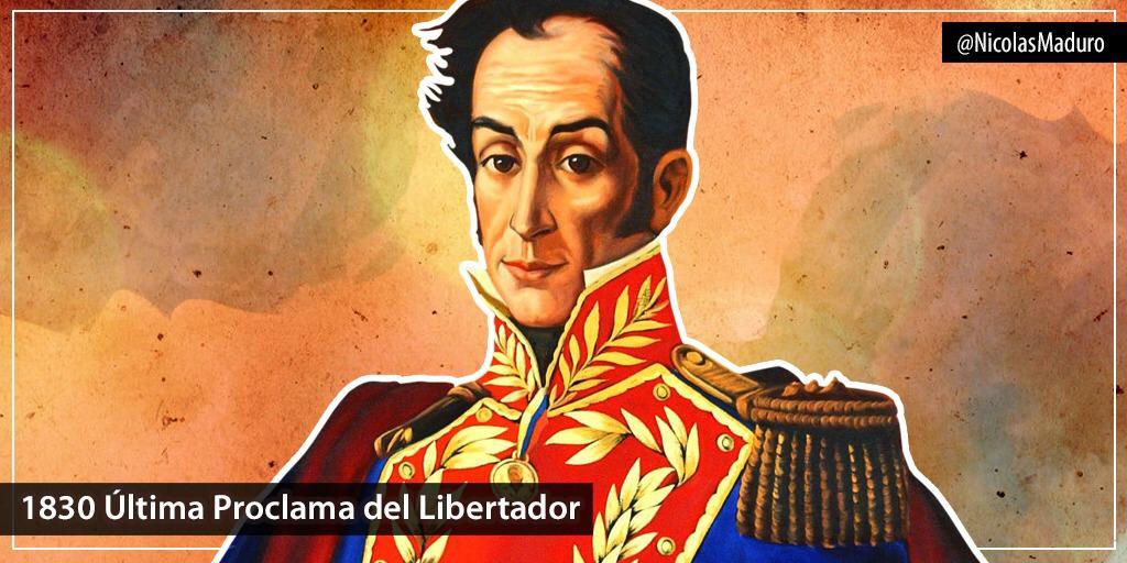 Bolivar, Padre Libertador. Bicentenario - Página 21 ELbZ5ZlXUAEm4E0