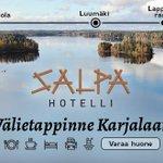 Image for the Tweet beginning: Välietappinne Karjalaan - Tervetuloa hotelli
