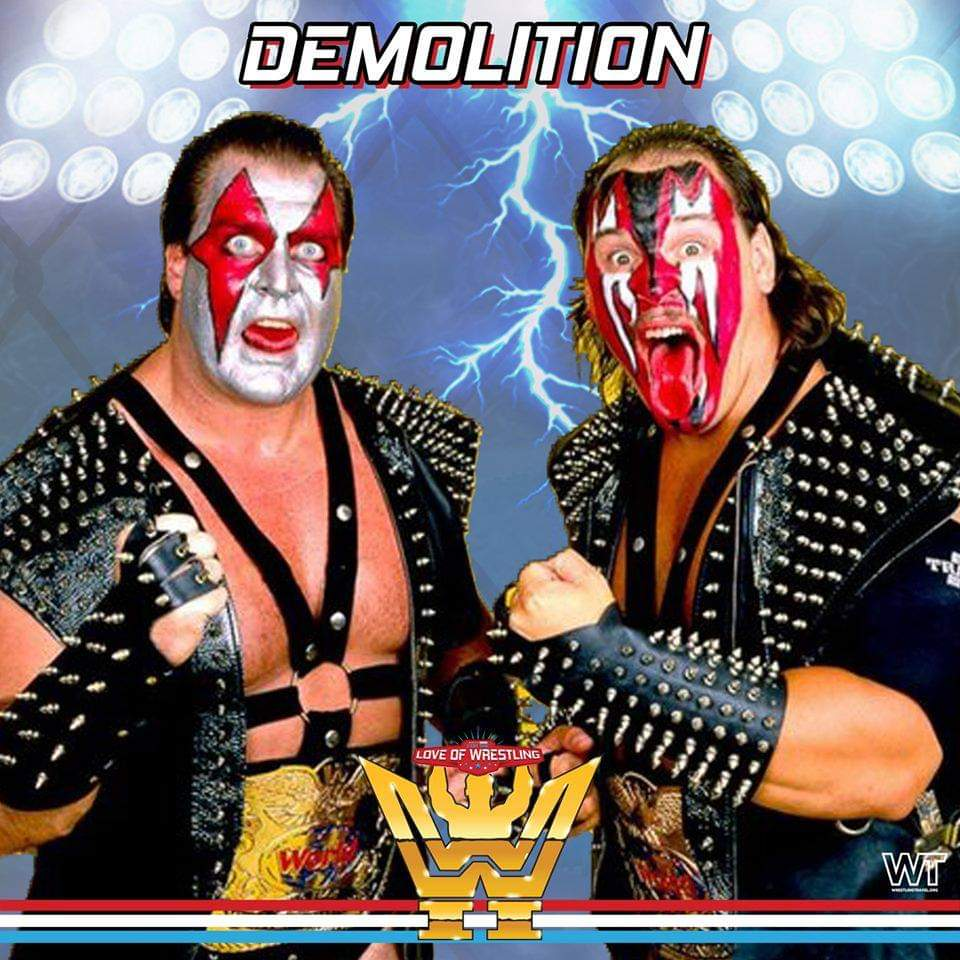Who else is looking forward to meeting one of the greatest tag teams of all-time, Demolition?#WWE #WWF #legend #demolition #TagTeamChampions #wrestling #ComicCon #meetandgreet #Liverpool #England #FTLOW #fortheloveofwrestling #monopolyevents #ticket #buynow