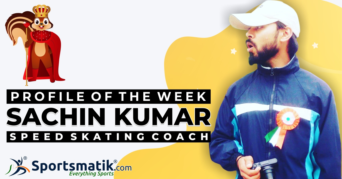 #SpeedSkating #coach #SachinKumar who provides #Skating #training to the budding #skaters to prepare them for the #nationallevel, is now available at http://Sportsmatik.com. Simply register here to connect with him.https://sportsmatik.com/coach/Kumarsachin734…