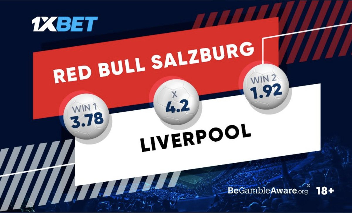 Since a win over Jurgen Klopp's guys will see the Red Bulls clinch their spot in the #UCL knockout stages, most likely, that they will do their best. Which team will perform better? Get involved by predicting: cutter.li/c5ByIj Follow: @1xbet_Eng