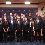 Image for the Tweet beginning: Dünya Ahıska Türkleri Birliği Heyeti'yle