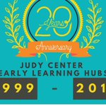 Image for the Tweet beginning: Happy 20th Anniversary Judy Centers!