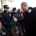 Image for the Tweet beginning: Bakan Akar ve TSK Komuta