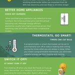 Image for the Tweet beginning: Saving Energy, saves you money....check