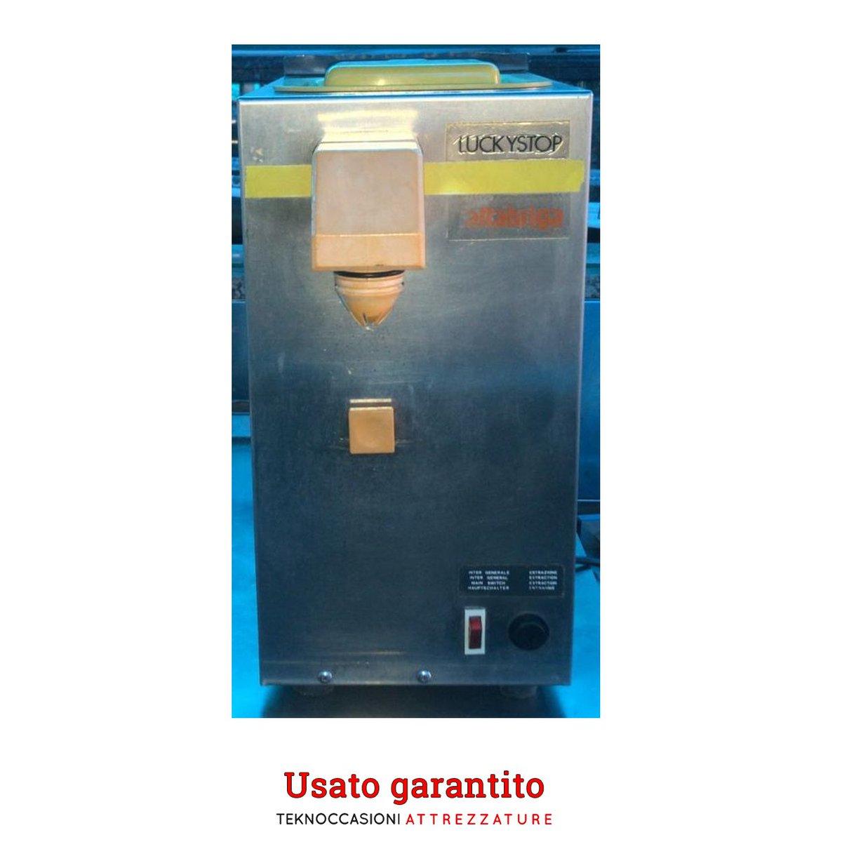 Montapanna Cattabriga da banco - 2 litri -> Chiama lo 085.915.23.41 Marca: Cattabriga Modello: Lucky Stop Litri: 2 Dimensioni in cm LxPxH 23x56x42 Alimentazione: 220 V Peso: 40 kg circa -> 650,00 € -> https://bit.ly/2LFMJLIpic.twitter.com/slEQQ3VT9K