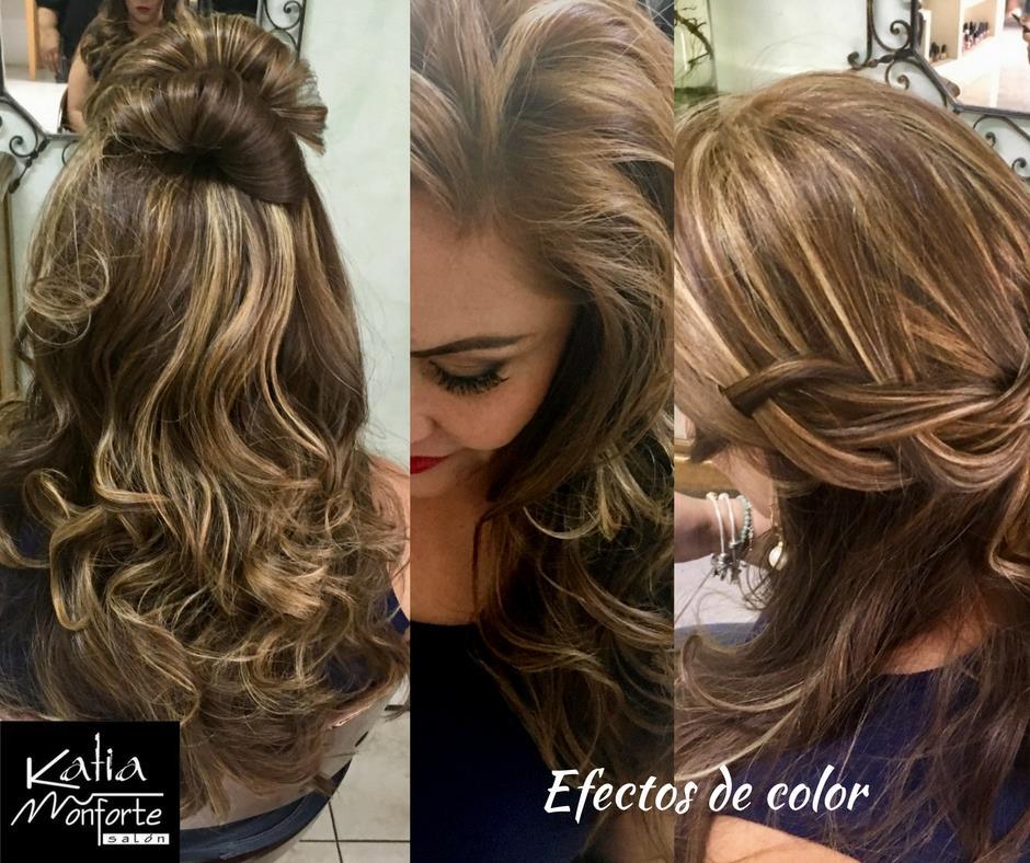 Con un estilo único, déjate llevar por la experiencia y talento de @Katiamonfortea Salón 💁♀💅  #Makeup & #hairdesing 💇♀💄💃  Reserva: ☎ 8 87 87 20 💎   💋 katiamsalon@hotmail.com