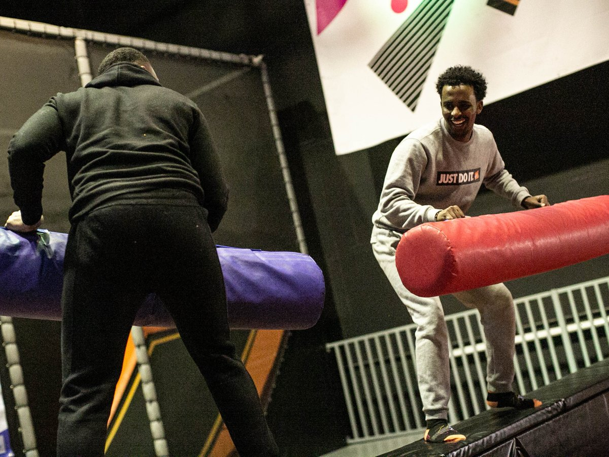 Back home from uni? It's not just London Uni students that can take advantage of our student deals - any valid student ID or NUS card can be used to get 50% off! Grab your home mates for a bounce and a catchup 🤸♂️🤸♀️   #students #freshers2019 #university