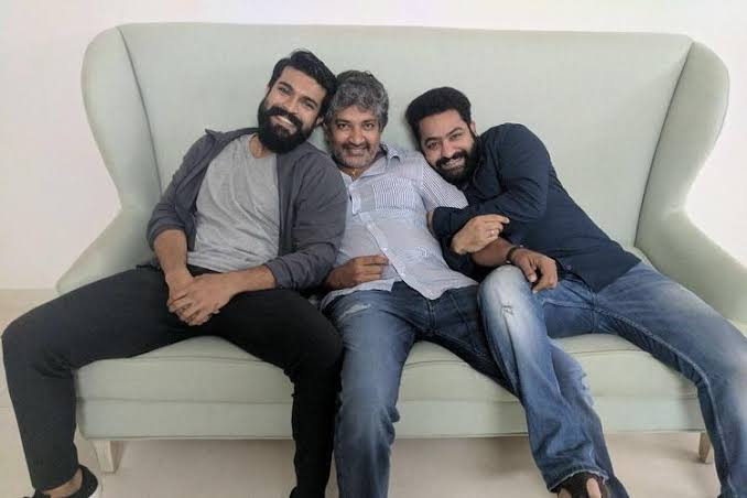 Dear #RamCharan real cults let them (fans) bark over the credit over #RRR.. It's not a matter  @ssrajamouli did 3 films literally and gave him HITS and With #RamCharan given biggest Blockbuster for his 2nd film itself.. End of the day 1st its a ssr film  He knows everything! <br>http://pic.twitter.com/8zJY6GCb1M