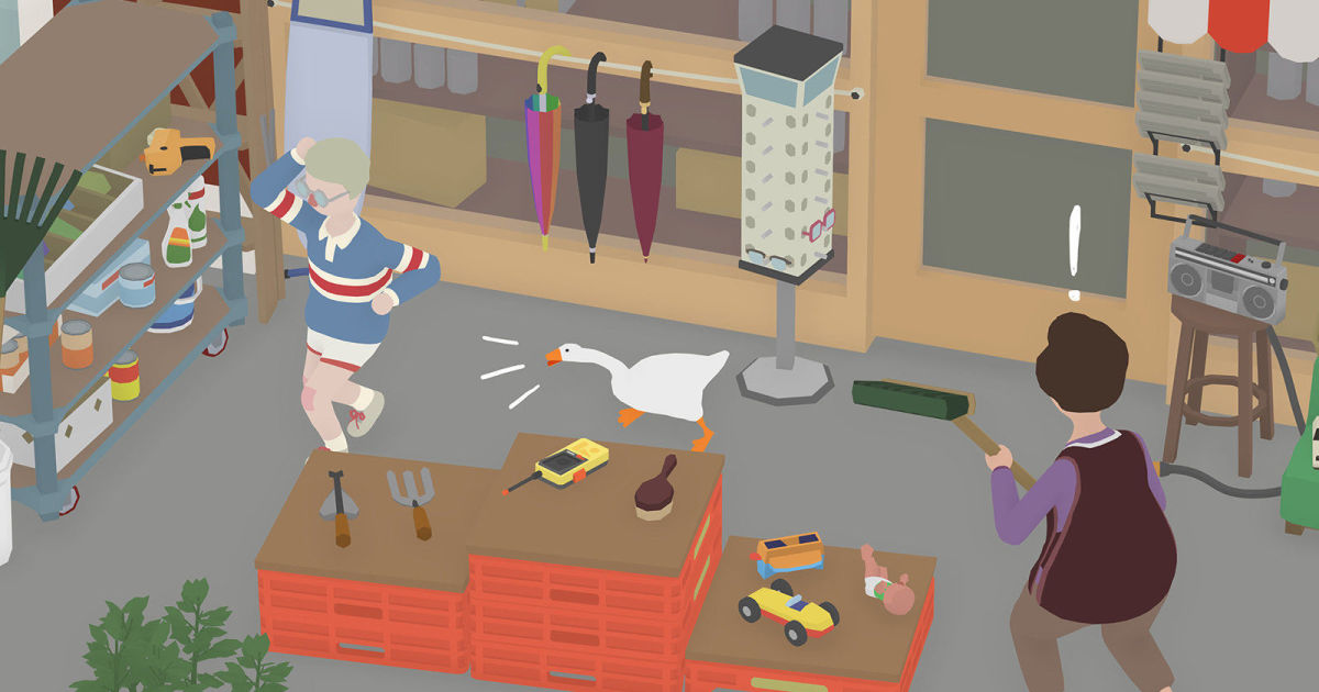 The mischievous 'Untitled Goose Game' comes to PS4 next week