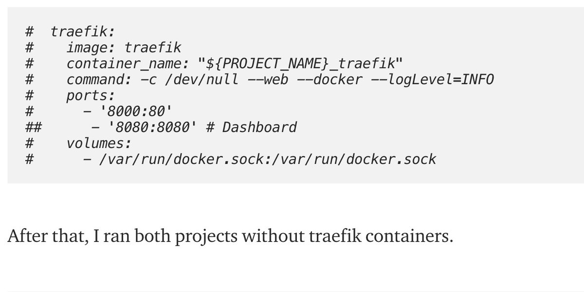 Community contribution 👉 How to run stand-alone Traefik with multiple domains by Mykola Veryha http://bit.ly/2Pug791  #traefik #docker