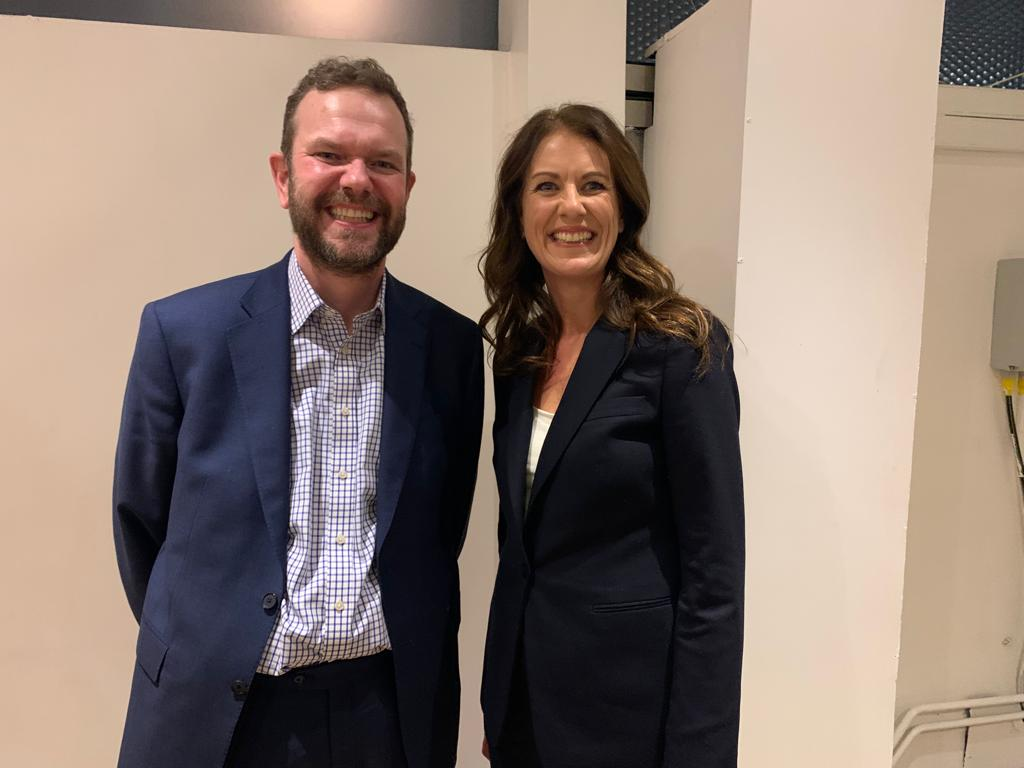 Delighted to meet brilliant broadcaster @mrjamesob at @votefinalsay event last weekend. Hes been holding politicians to account on Brexit on our behalf for years. Its time for voters to do the same on Thursday. #GE2019 #FinalSay #PeoplesVote #StopBrexit