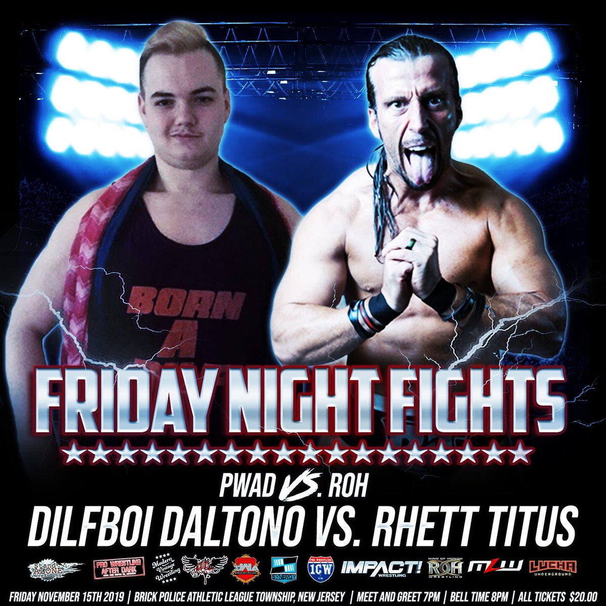 Watch my match against Rhett Titus https://youtu.be/3YfwSh50DN4 #ProWrestling #DilfLife pic.twitter.com/Hf67F1Hk2q
