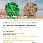 Image for the Tweet beginning: 〰Science for Rights〰 Il Dipartimento #STEBICEF