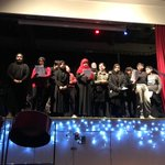 Image for the Tweet beginning: The Rockwood choir performances were